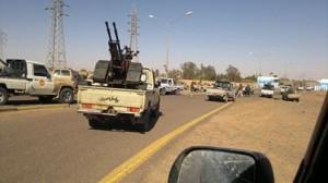 محادثات التهدئة أسفرت عن توقف قوات درع المنطقة الوسطى عن التقدم