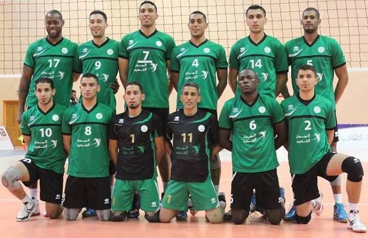 فريق كرة الطائرة بنادي الإتحاد المصراتي يلتقي النجم الساحلي التونسي
