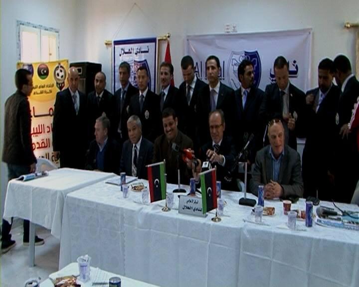 الحكام الدوليين الليبيين يستلمون شاراتهم الدولية