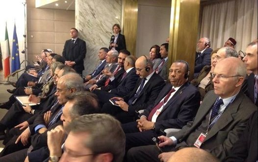 مؤتمر روما يعرب عن قلقه من تدهور الأوضاع في ليبيا
