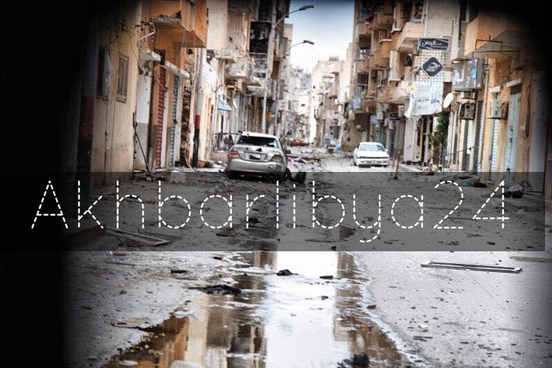 عدسة أخبار ليبيا 24 ترصد دمار بنغازي