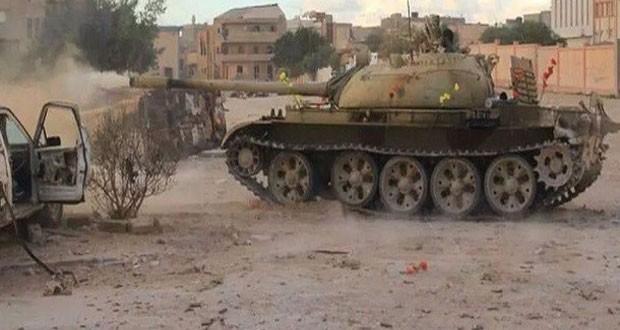 القبض على أشخاص من مختلف الجنسيات بمحاور القتال ببنغازي