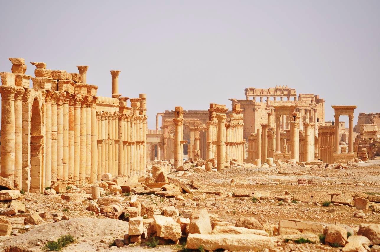 آثار العرب تحت معاول تنظيم الدولة
