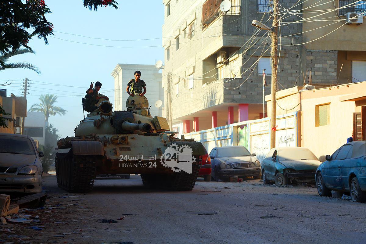 الصاعقة تصد هجوما على معسكرها في بوعطني وتواصل الاشتباكات بالليثي