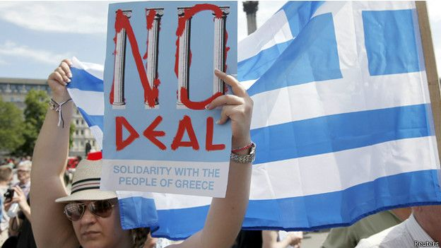 ملايين الناخبين اليونانيين يدلون بأصواتهم في الاستفتاء الحاسم على حزمة الإنقاذ المالي