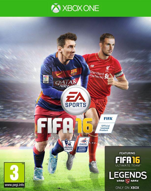 كابتن فريق ليفربول الجديد يظهر على غلاف نسخة الأوروبية من FIFA 16 بجانب ميسي