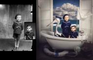 فنانة تلون الصور القديمة وتحولها لأعمال سريالية مبتكرة !