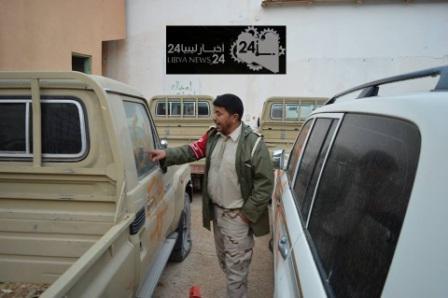 آمر الشرطة العسكرية طبرق: نرفض حكم النيابة بالإفراج عن سيارات المهربين