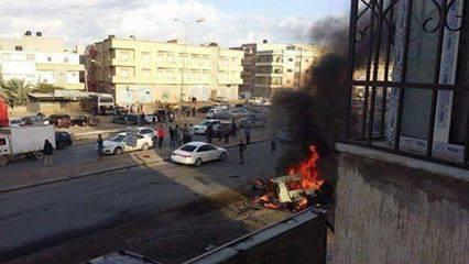 طبي بنغازي: جثة صاحب السيارة التي أصابتها قذائف الإرهاب لازالت مجهولة