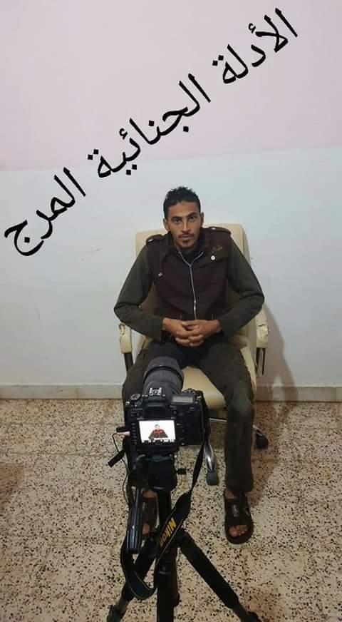 المباحث الجنائية المرج تضبط إرهابي من مدينة درنة بالقرب من البيضاء