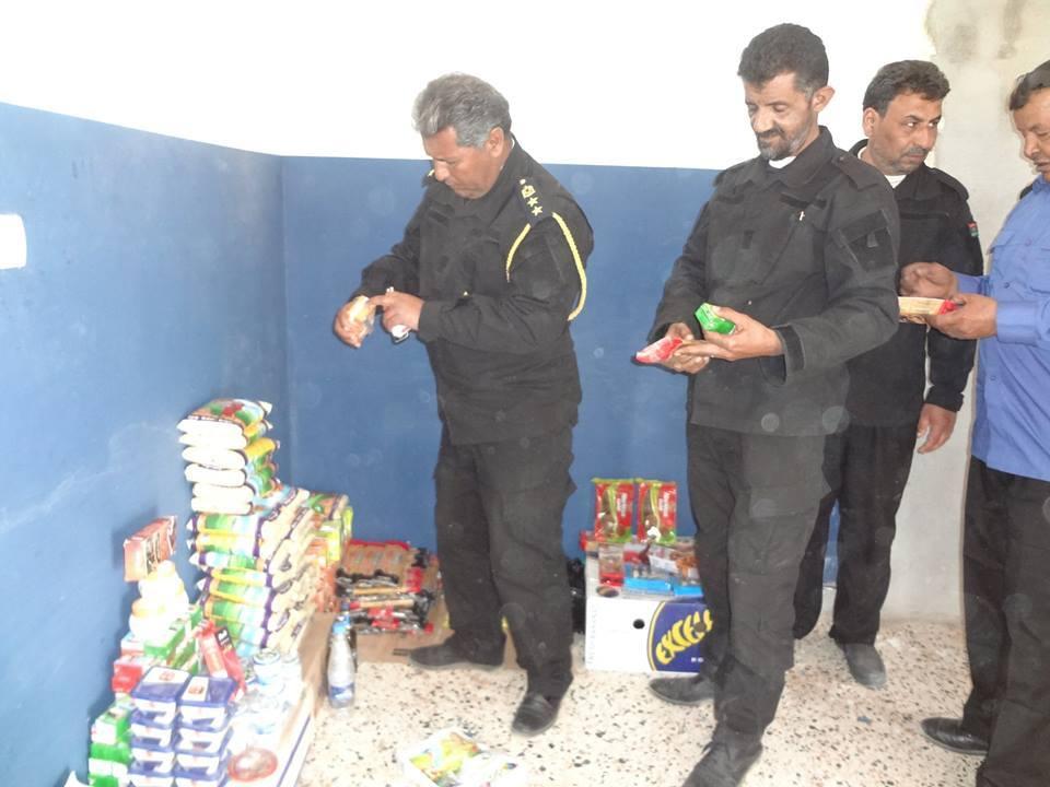 الحرس البلدي بئر الأشهب يضبط مواد غذائية منتهية الصلاحية