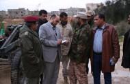 اللجنة المكلفة للوقوف على أوضاع محاور القتال في بنغازي: نقلنا شكوى الجنود والأوضاع ستتغير بعد وصول الدعم المادي وتغيير الخطط