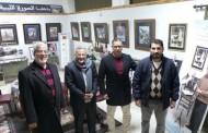 رئيسا الإعلام ومجلس الثقافة يزوران المتحف الخاص بالراحل فتحي العريبي