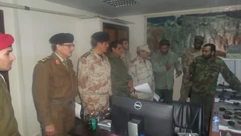 القائد العام للجيش الليبي يكلف ضباطا للمرور على محاور القتال