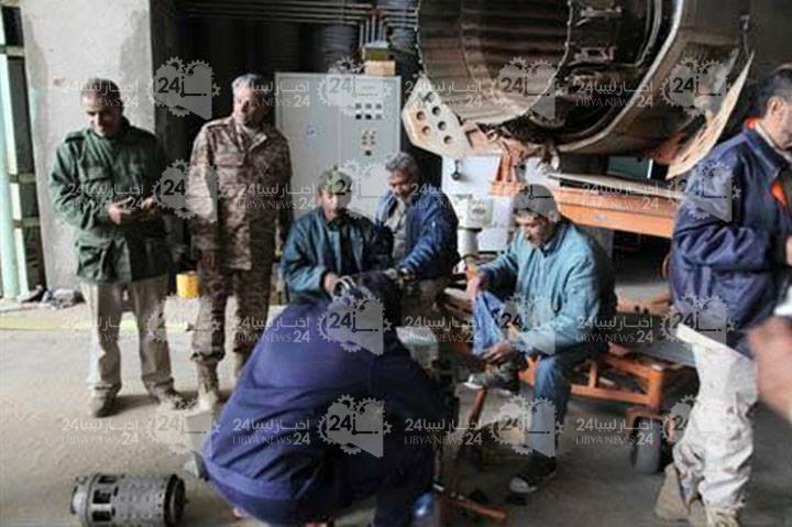 رغم استهدافها بالقذائف قاعدة بنينا الجوية تكثف الغارات الجوية على  أوكار الإرهاب