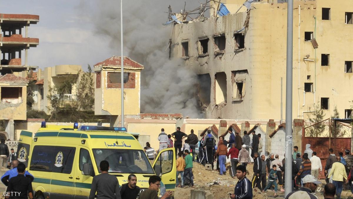 تفجير يقتل ضابطي شرطة في العريش