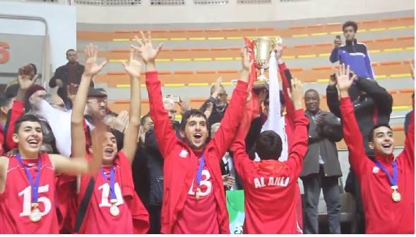 الأهلي بنغازي يتوج ببطولة ليبيا لبراعم كرة السلة