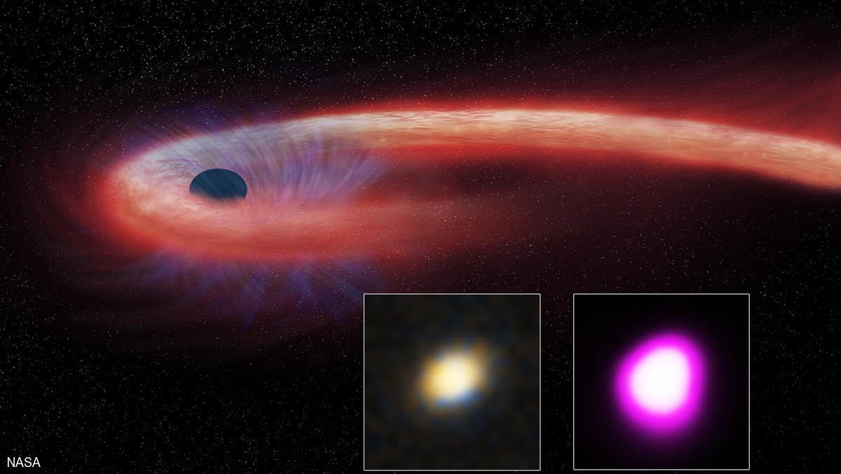 رصد ثقب أسود يبتلع نجما في زمن غير مسبوق
