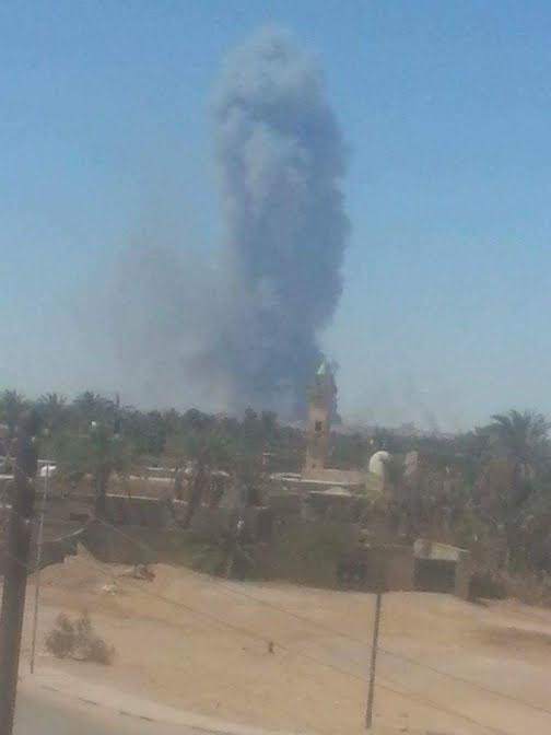 مقتل 60 شخصا في قاعدة براك الشاطيء إثر هجوم مليشيا دفاع بنغازي والقوة الثالثة