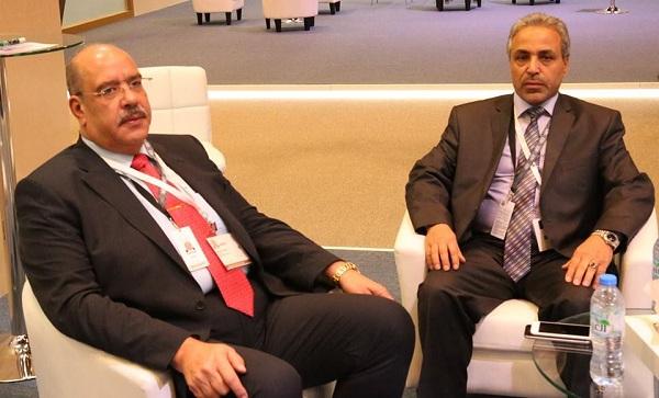 رئيس ديوان المحاسبة يجري مباحثات مع رئيس الجهاز المركزي للمحاسبات المصري
