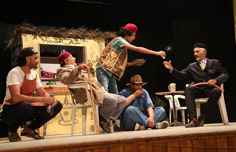 مسرحية يعيش الشياب على خشبة المسرح الوطني