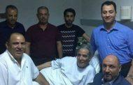 العاملون بسفارة ليبيا في تونس يطمئنون على صحة الفنان محمد حسن