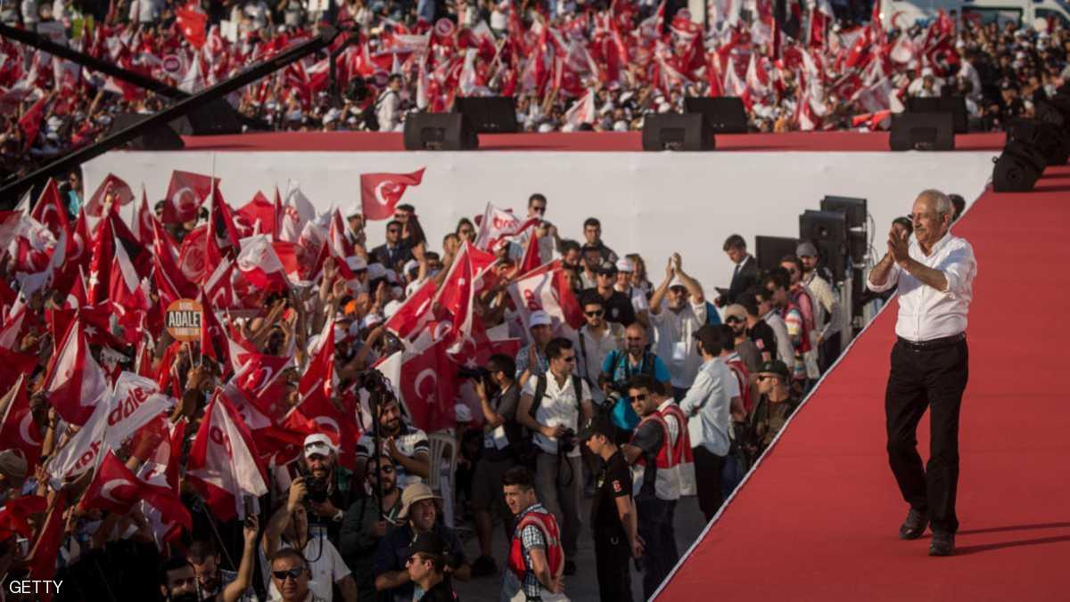 المعارضة تحشد وتتوعد أردوغان.. 80 مليون شخص متعطشون للعدالة