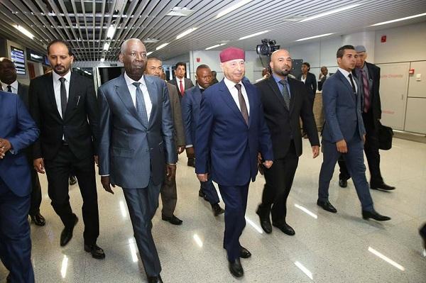 رئيس مجلس النواب يجري سلسلة من اللقاءات في الكونغو