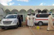 وصول جثامين أعضاء المجلس الاجتماعي ورفلة وعنصرين الأمن المرافقين لهم إلى بني وليد