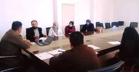 بحث التعاون بين مكتب الإعلام والتوعية والتثقيف الصحي بنغازي ومنظمة الإغاثة الدولية