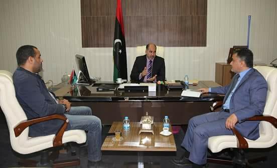 صورة كاجمان يبحث برامج الإدماج والتنمية لفئة الشباب في طرابلس