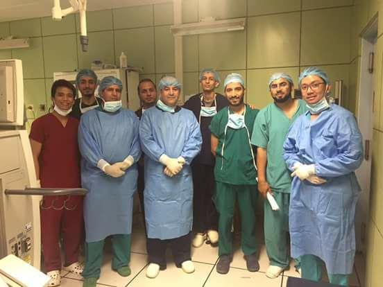 المجلس العربي للاختصاصات الصحية يعتمد قسم جراحة الأنف والأذن والحنجرة بنغازي