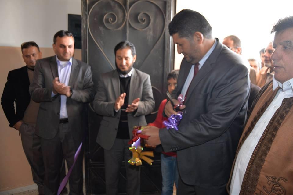 كلية الآداب والتربية بجامعة طبرق تفتتح فرعاً جديداً ببلدية الأشهب