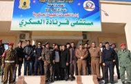 عقوب يطلع علي سير العمل في مستشفى قرنادة العسكري