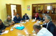 اللجنة التحضيرية لمؤتمر ومعرض إعادة إعمار بنغازي الدولي تبحث أوضاع النازحين