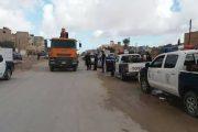 الحرس البلدي بنغازي يجمع ويتلف مواد غذائية غير صالحة بالمناطق التي تم تحريرها مؤخراً