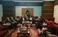الوطنية لحقوق الإنسان تناقش دور اتحاد المغرب العربي للدفع بجهود التسوية للأزمة الليبية