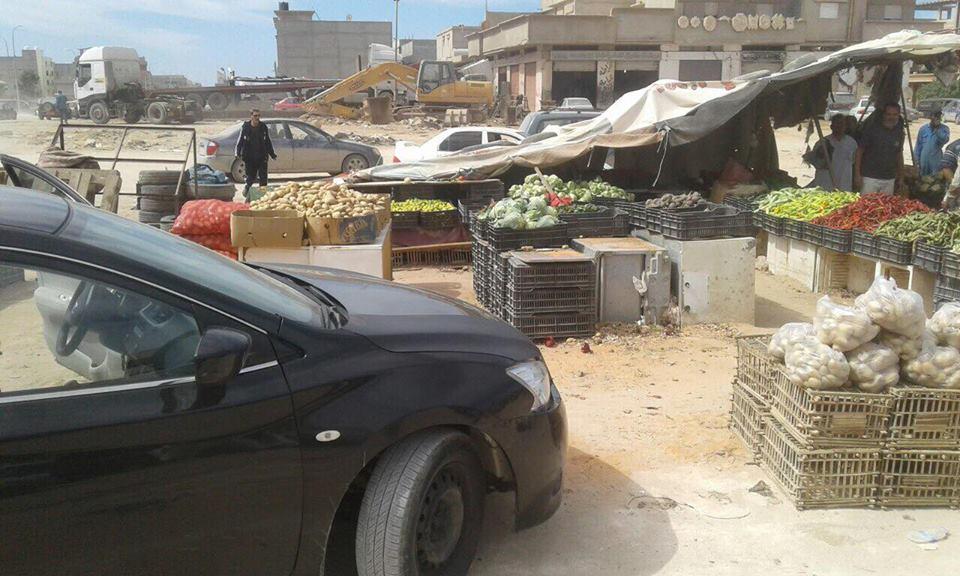 انطلاق حملة إزالة الأكشاك والمباني العشوائية في بنغازي