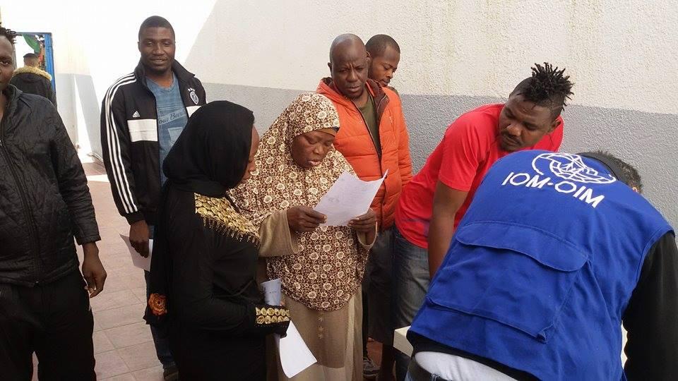 مكافحة الهجرة طرابلس تحدد موعد لعودة عدد من المهاجرين إلى بلادهم