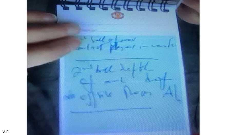شاهد ماذا كتب مورينيو قبل تسجيل هدفين في مرمى ليفربول