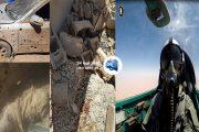 قصف جوي يستهدف تجمعات إجرامية وإرهابية في الجنوب الليبي