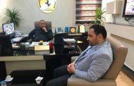 العريبي يبحث مع مصلحة الأحوال المدنية بنغازي مشروعات الصيانة