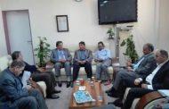 وكيل عام وزارة الصحة يناقش أوضاع القطاع الصحي في بنغازي