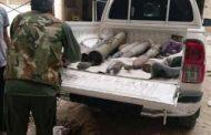 مؤسسة لا للألغام تنزع 18 قذيفة جدباء في محيط مصرف ليبيا المركزي بنغازي