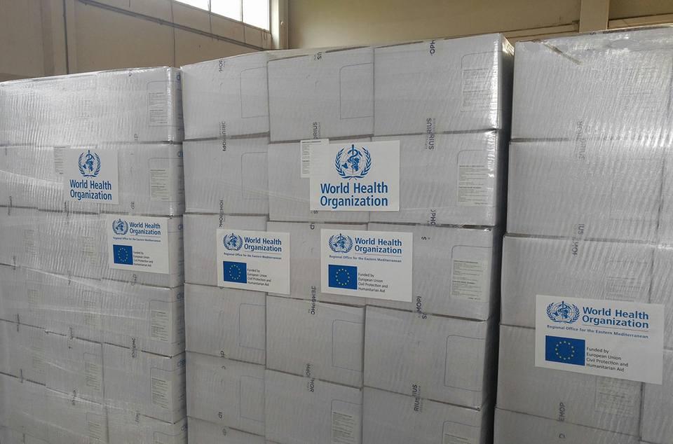 مستشفيات المنطقة الشرقية تحصل على 42 ألف كيس دم من منظمة الصحة العالمية