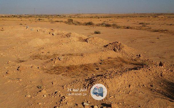 مقبرة مجهولي الهوية..شاهد على نهاية مأساوية لمهاجرين انتهوا على صحراء طبرق وشواطئها