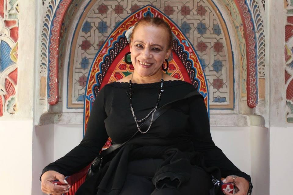 تكريم الفنانة سعاد خليل فى المهرجان الدولي للمونودراما بقرطاج