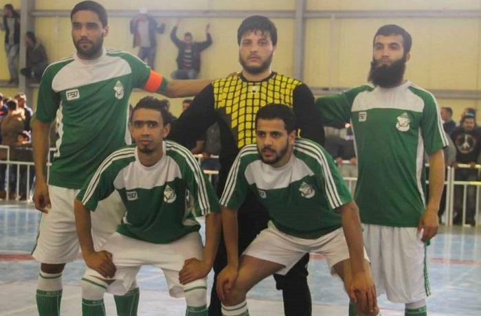 الأخضر والإتحاد يتقدمان في كأس ليبيا للكرة الخماسية