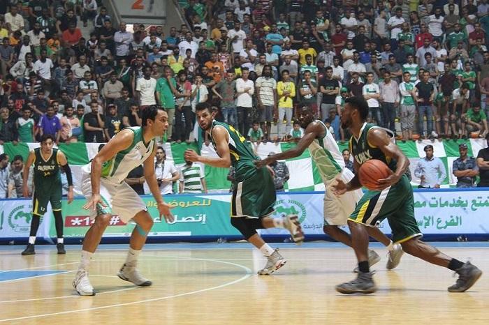 فارق نقطة ترجح النصر على الأهلي طرابلس في قمة نهائيات السلة