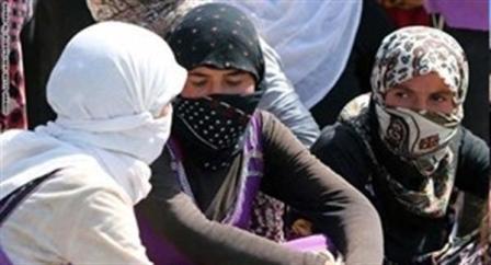فتيات أيزيديات تحررن من قبضة أوغاد داعش وأنقذن من نار جهنمهم